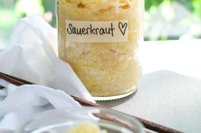 Sauerkraut (lacto-fermented vegetable)