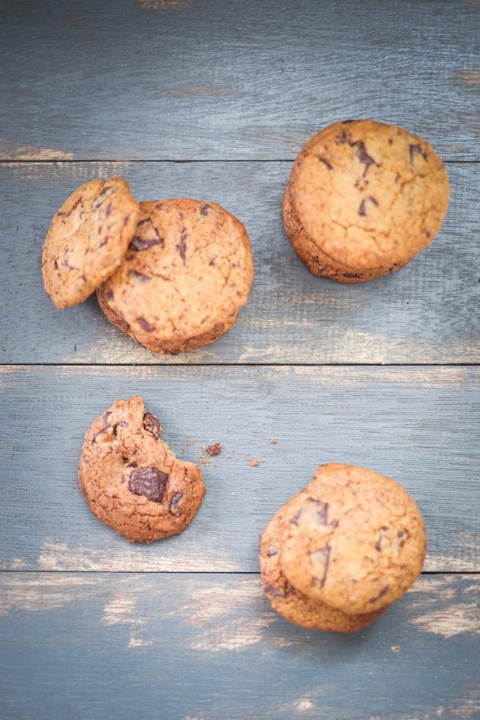 Grain Free Chocolate Chunk Cookies