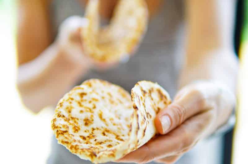 Flat-Bread Chapati Wraps
