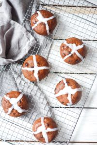 Hot Cross Buns – Dairy & Grain Free