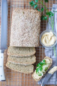 Humble Seed Loaf sliced