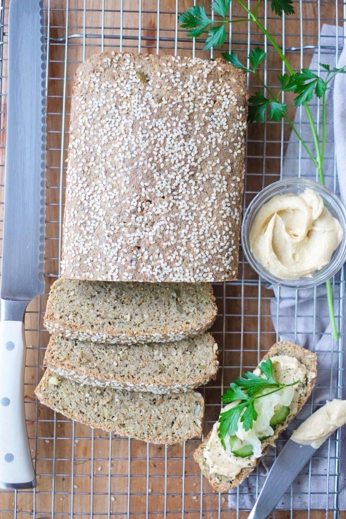 Humble Seed Loaf sliced