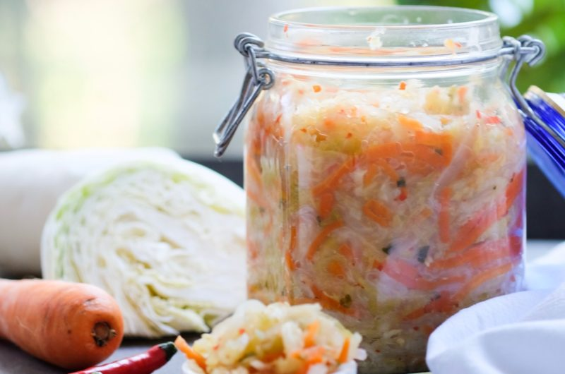 Classic Kimchi (Lacto-fermented vegetables)