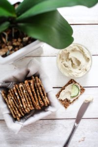 Raw Sprouted Sunflower Seed Hummus