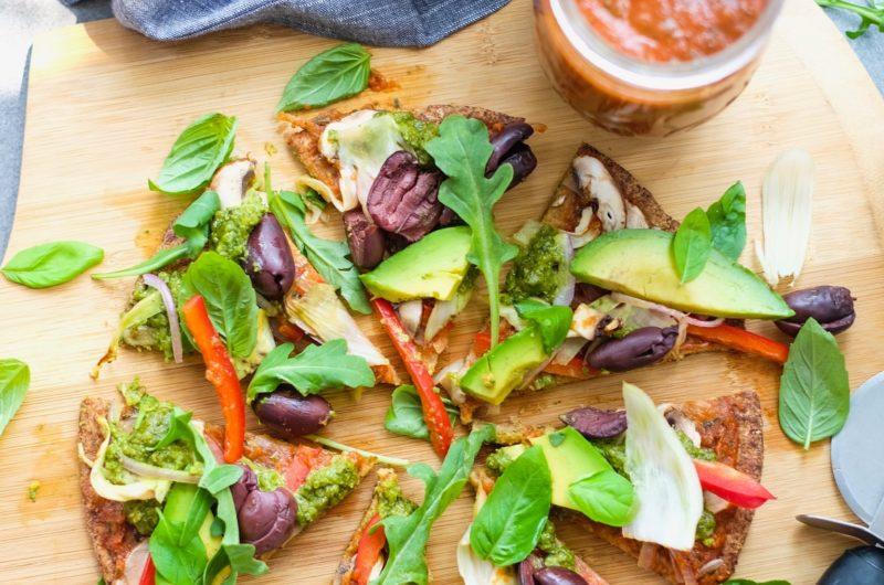 Caulicrust Pizza Vegetariana