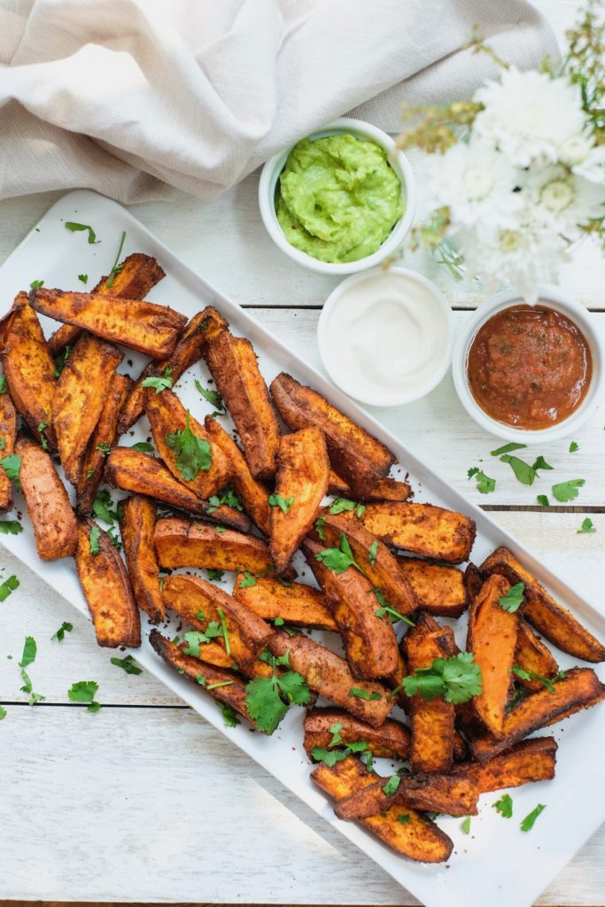 Mexican Sweet Potato Wedges