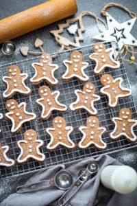 Sugar Free Gingerbread Men