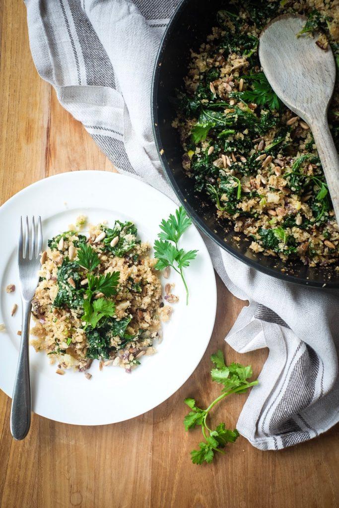 Kale Cauli-Rice