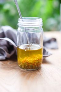 Chili Garlic Caper Oil
