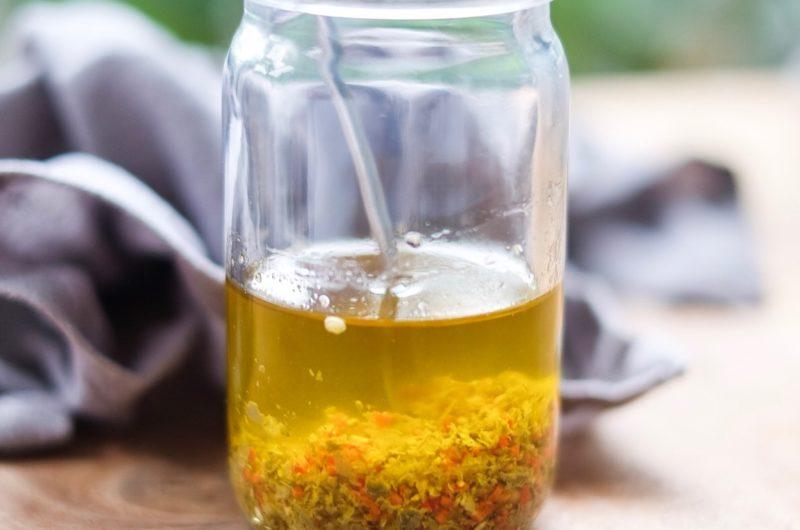 Chili Garlic Caper Oil