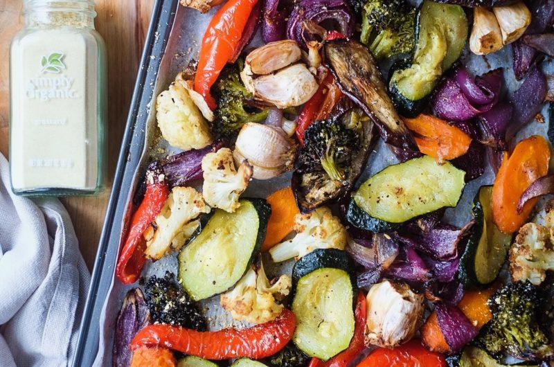 Roasted Vegetable Sheet Pan