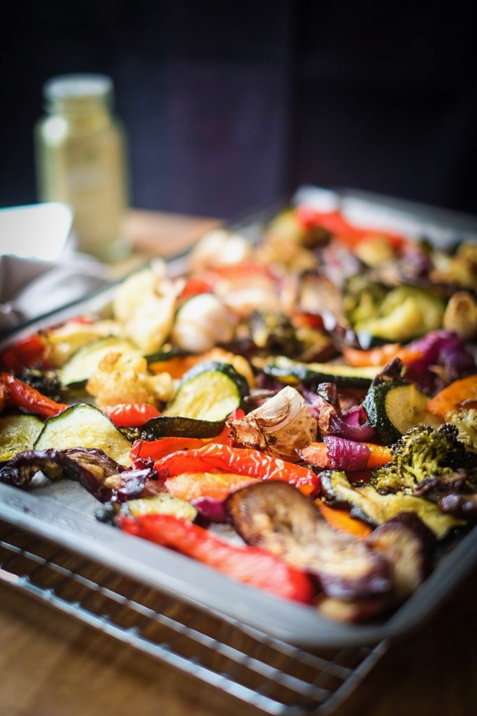 Roasted Vegetable Sheet Pan beautiful