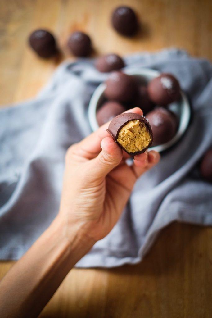 Salted Chocolate Peanut Butter Bonbon