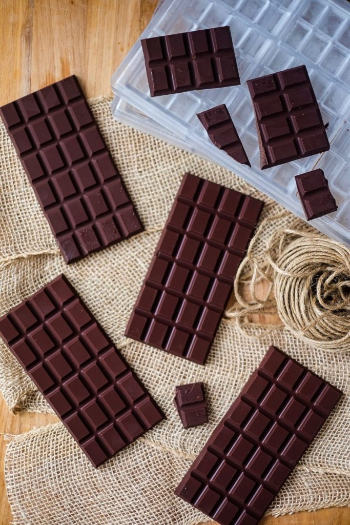Sugar Free Raw Dark Chocolate Bars