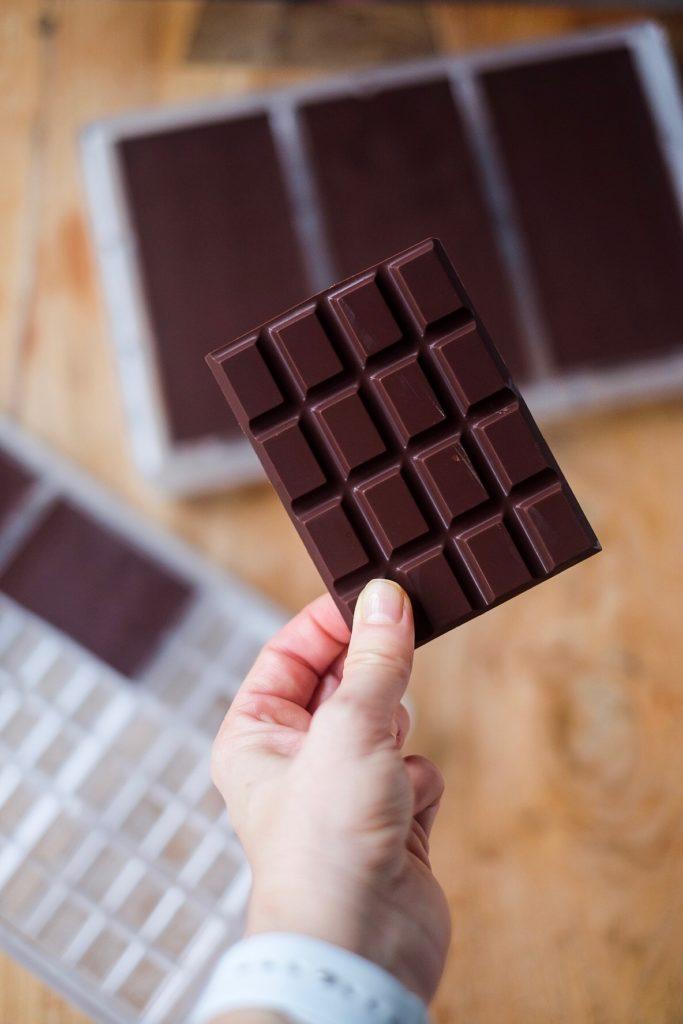 Sugar Free Raw Dark Chocolate Bar