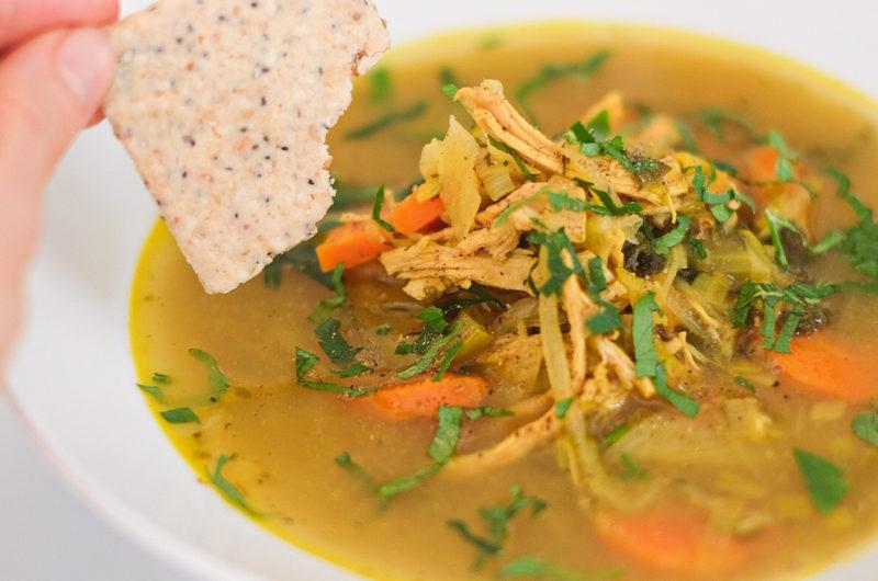 Chicken Veggie Soul-Soup