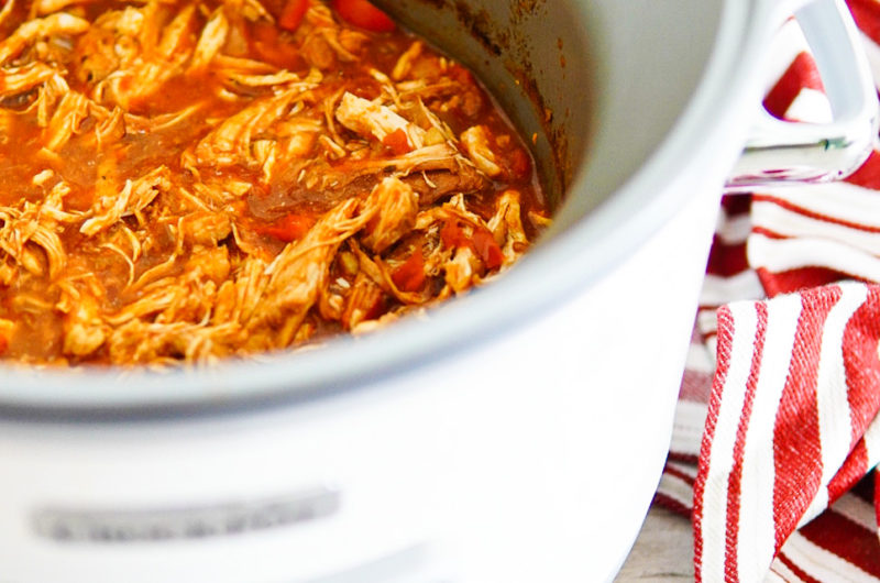 Mexican Slow-Cooker Pulled Chicken