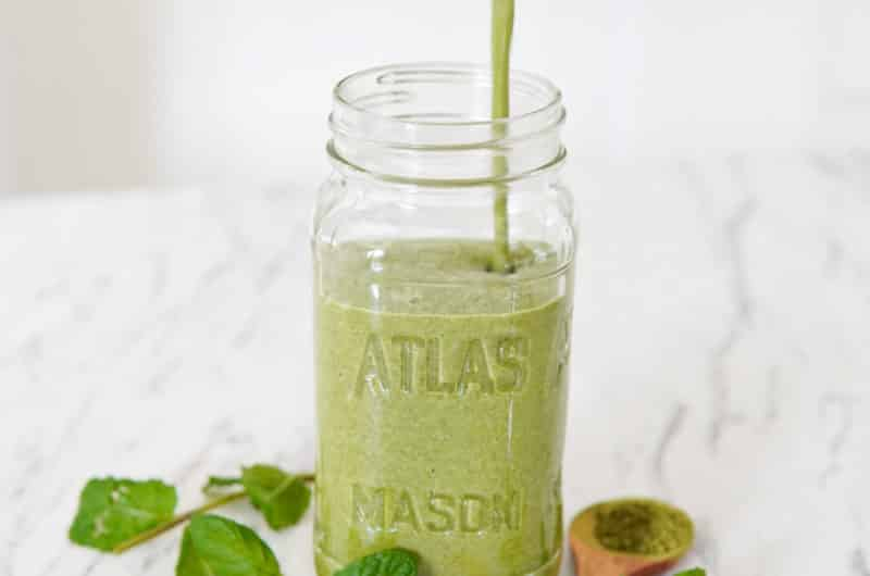 Matcha-Mint Thrive Smoothie