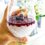 Creamy Chia Pudding & Muddled Mixed Berry Compote