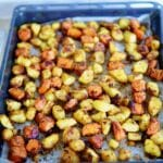 Roasted Rustic Root Veggies