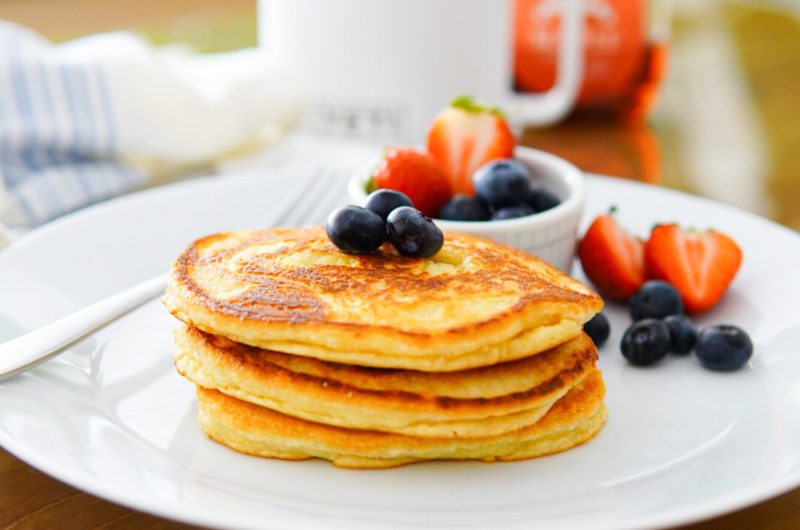 Chef P's High-Protein Grain-Free Pancakes (keto friendly)